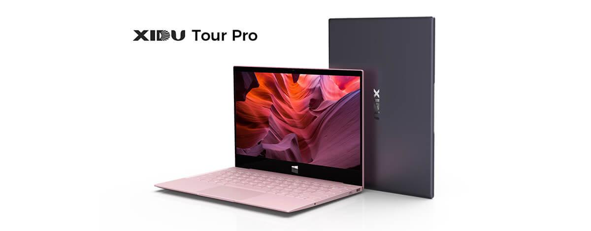 格安ノートPC XIDU Tour Proに新色登場。2.5K IPSタッチ画面、8GB RAM/128GB SSDで$399