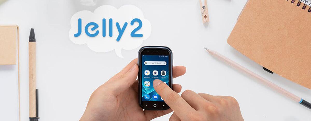 世界最小FeliCa対応スマホUnihertz Jelly 2が国内登場。DSDSでRakuten Miniより汎用的