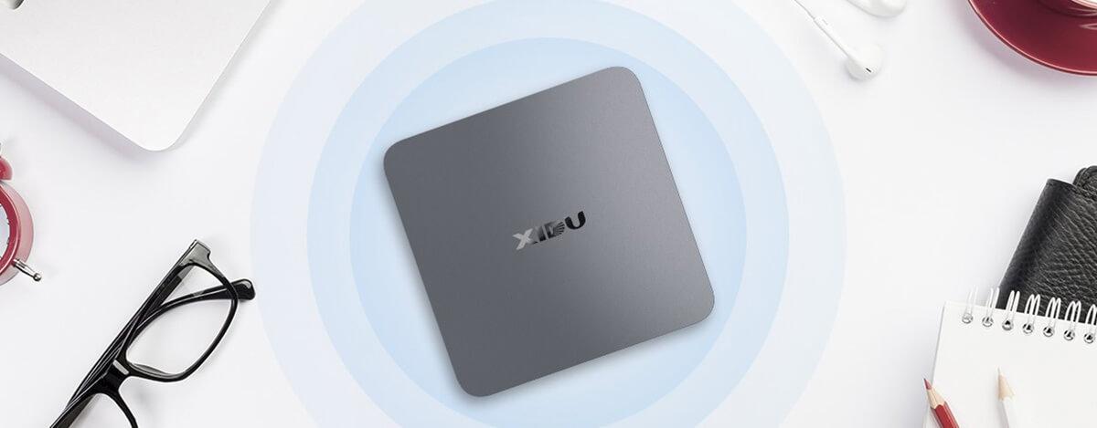 小型PC XIDU PhilMac、21,478円で無線マウス付き。8+128GB、4K出力もできる多ポート