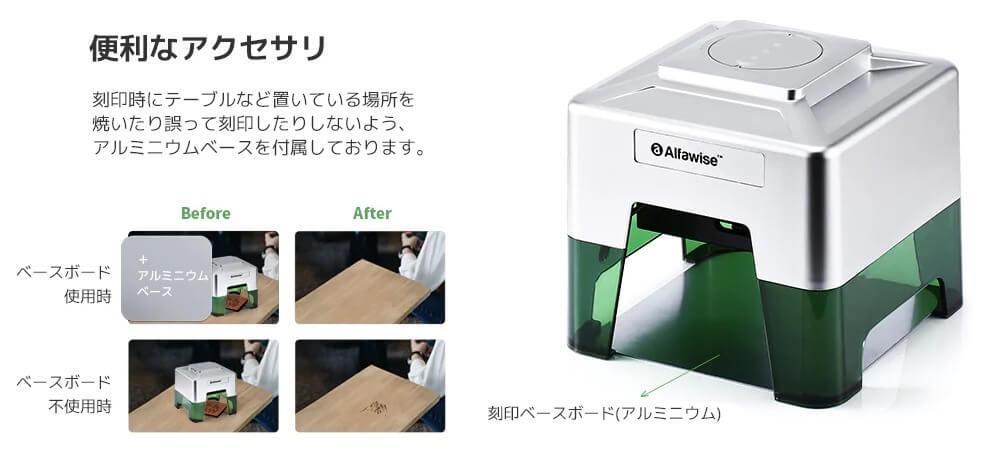 アルミニウムベース