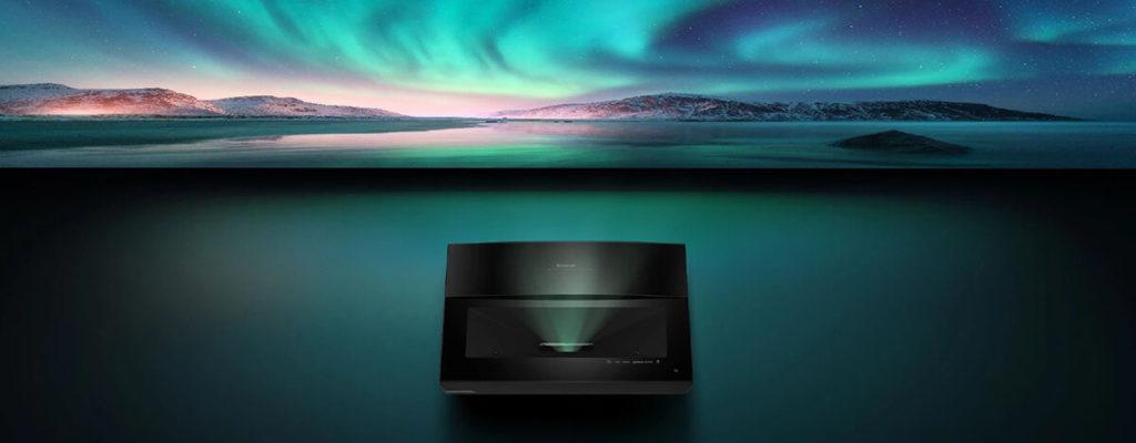 Bomaker Polaris 4K超単焦点プロジェクター、193% NTSC・2500lm・MEMC・Dolby DTS搭載