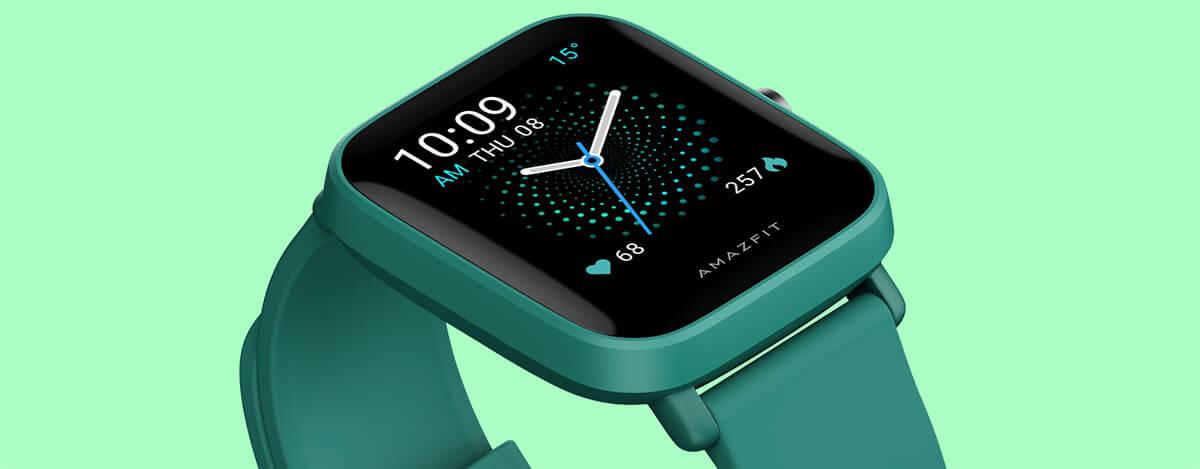 GPS内蔵Amazfit Bip U Pro国内版が発売。SpO2・血中酸素濃度測定対応、9日の電池持ち