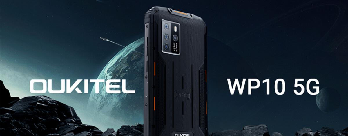 5GタフネススマホOUKITEL WP10 5Gが$399.99に。先着500名は$40相当のTWSイヤホンもらえる