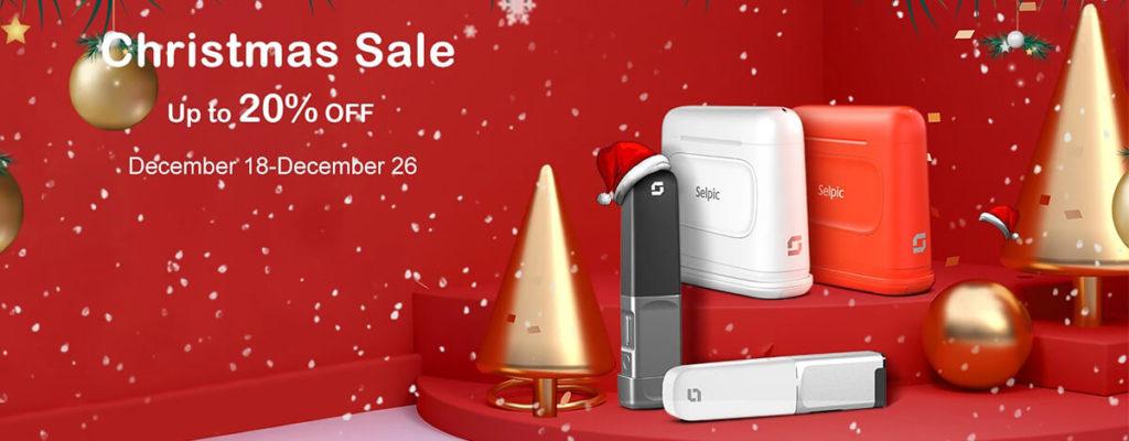 Selpic P1ペン型プリンターや1万円台3DプリンターStar Aがクリスマスセール最大20%オフ!26日まで