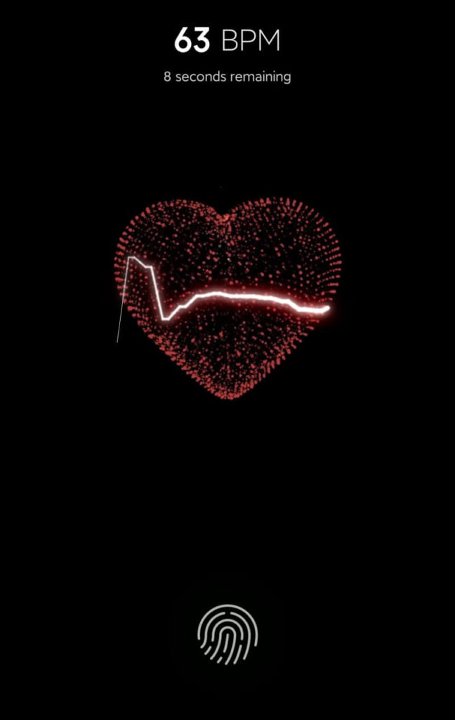 心拍数の計測