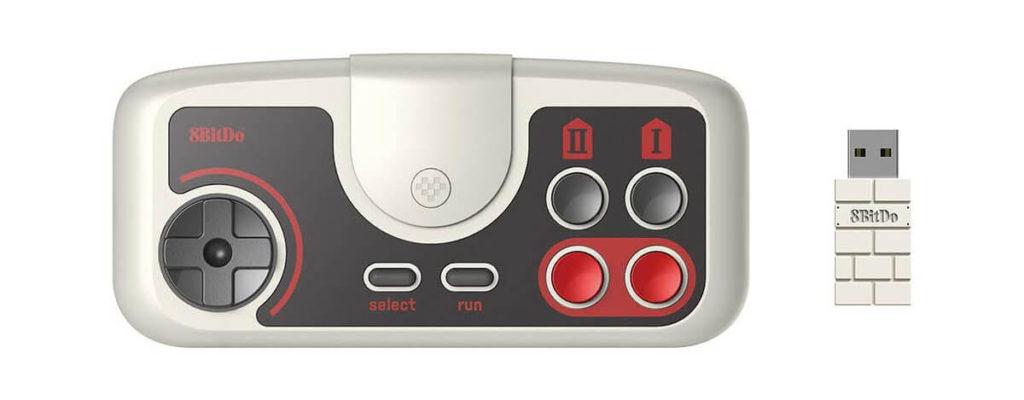 8Bitdo ワイヤレスゲームパッドが2,966円に。2.4Ghz接続、PCエンジン風のレトロデザイン
