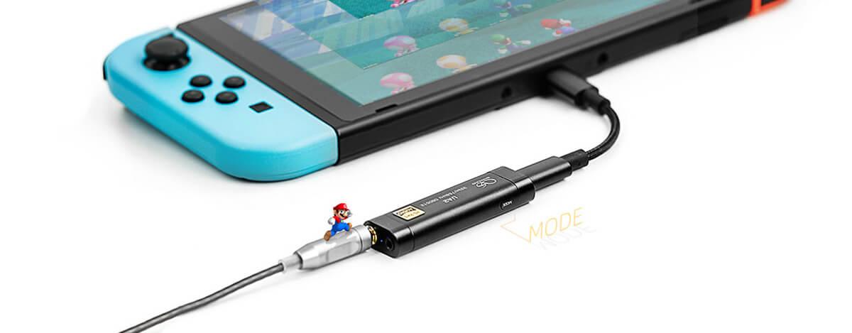 Shanling UA2発売。Nintendo Switch対応、ESS ES9038Q2M DAC & Ricore RT6863アンプ搭載