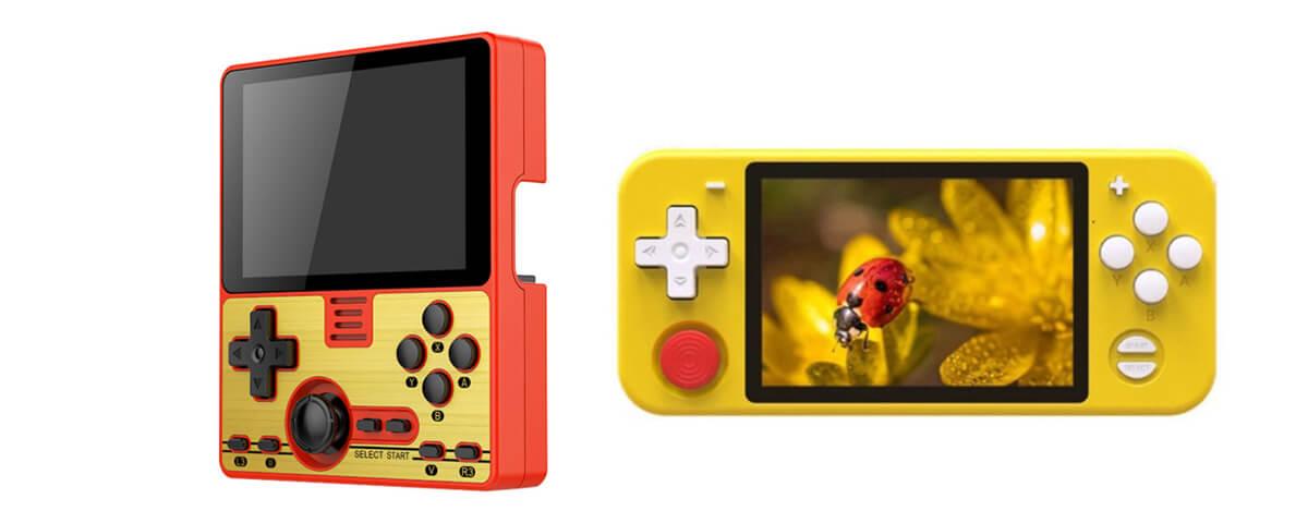 ファミコン&Switch Lite風のレトロゲーム機POWKIDDY RGB10とRGB20がセール中。NDSも遊べる