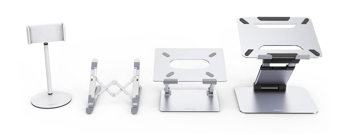 XIDU、各種スマホ・タブレット・ノートPCスタンドを発売。製品が当たるGiveawayも実施中