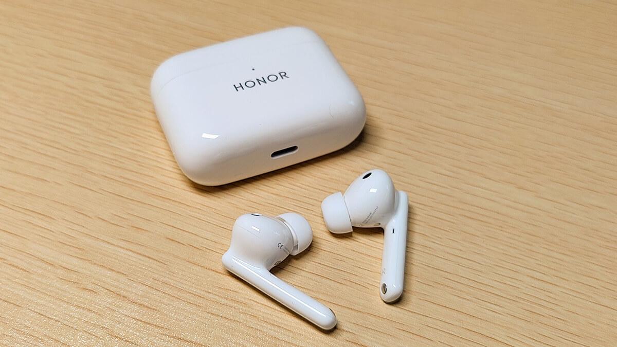 HONOR Earbuds 2 Liteレビュー。アクティブノイキャン、AAC対応完全ワイヤレスイヤホン