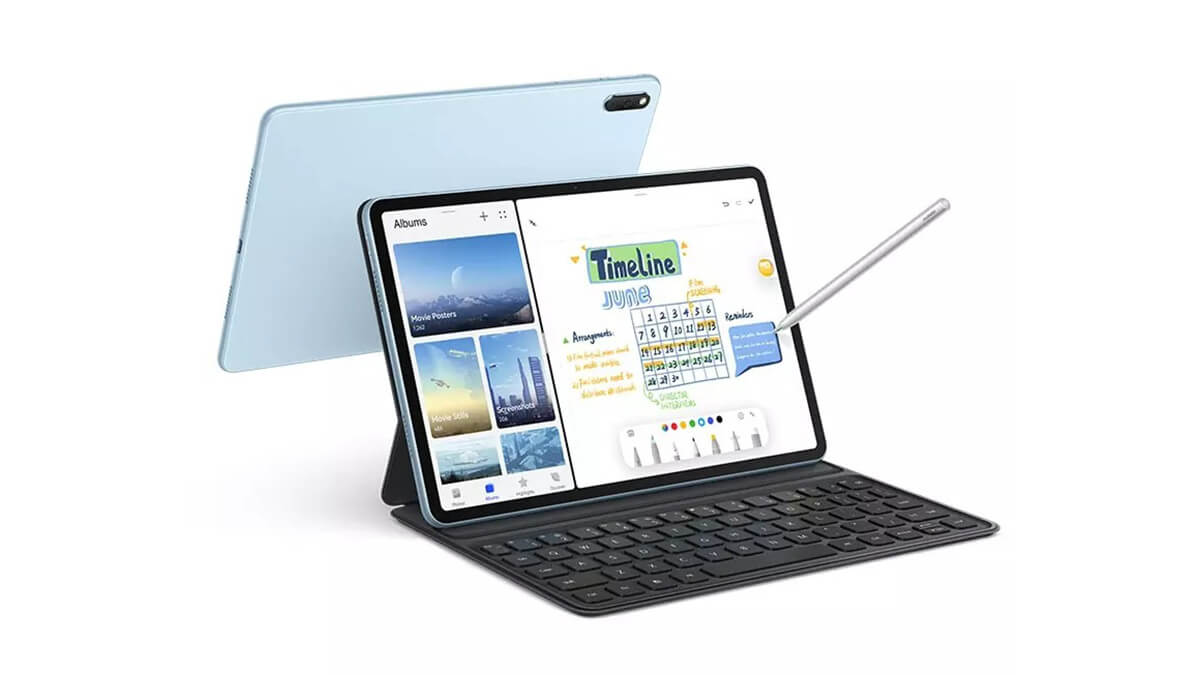 HUAWEI MatePad 11発表。Snapdragon 865搭載、クアッドスピーカーの10.95インチタブレット