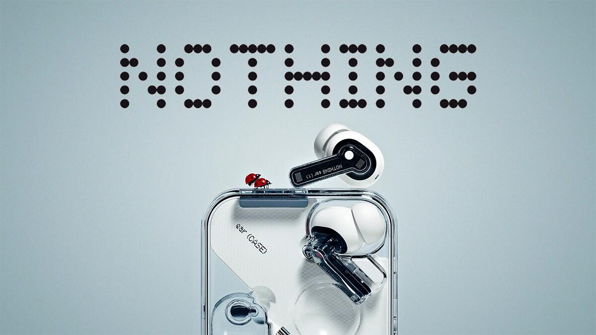 OnePlus共同創業者のブランドNothing Techのイヤホンear(1)が日本上陸!片耳4.7g