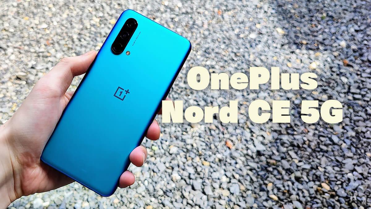 OnePlus Nord CE 5Gレビュー。4500mAhバッテリーながらも約170gで軽いミドルレンジスマホ