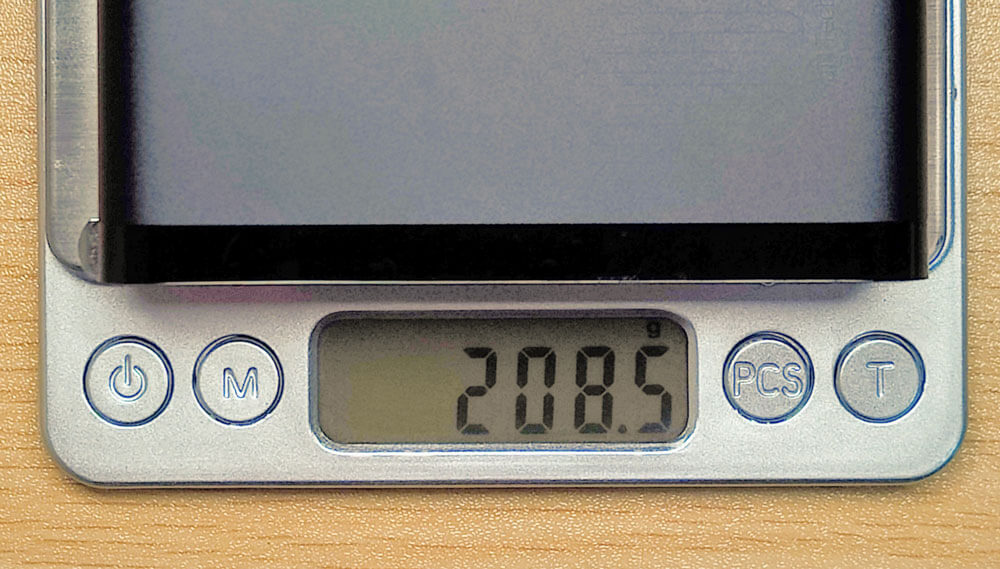 208.5g