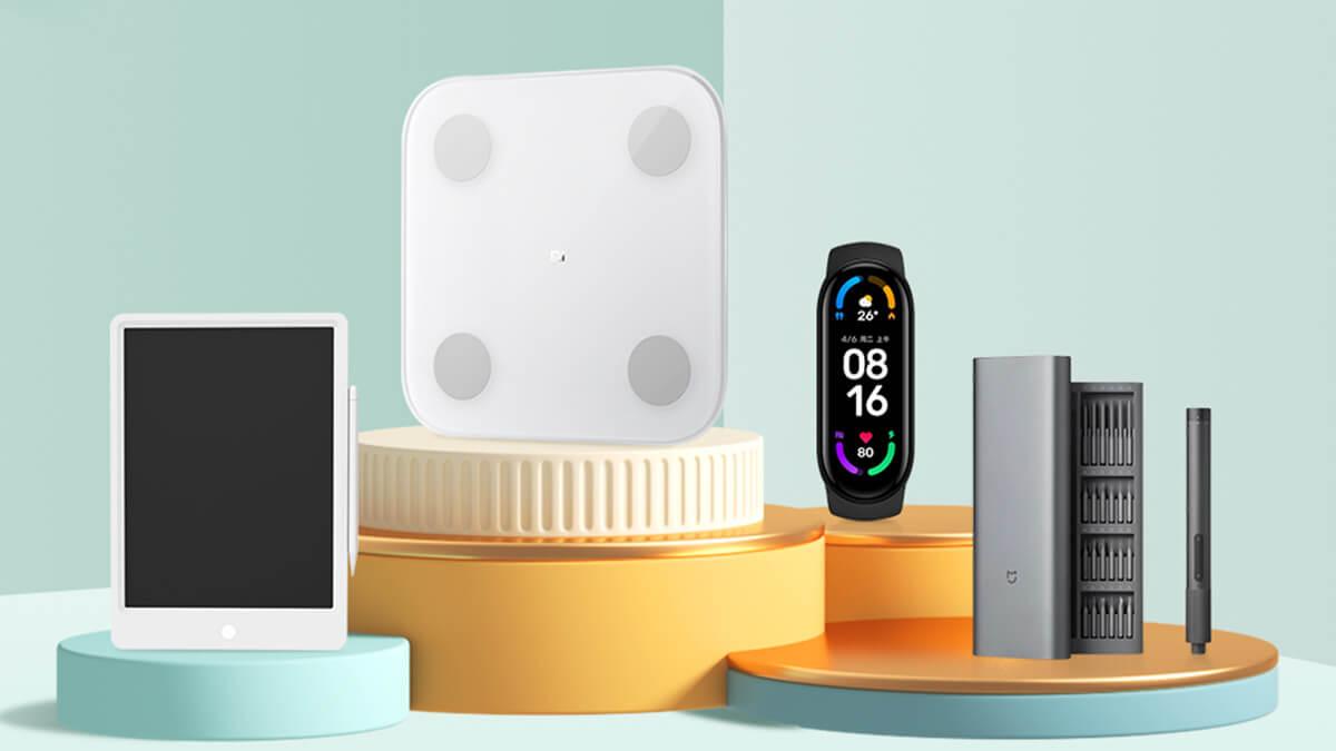 GshopperにてXiaomi製品20%オフ。Miスマートバンド6やMi Watch Liteが特価