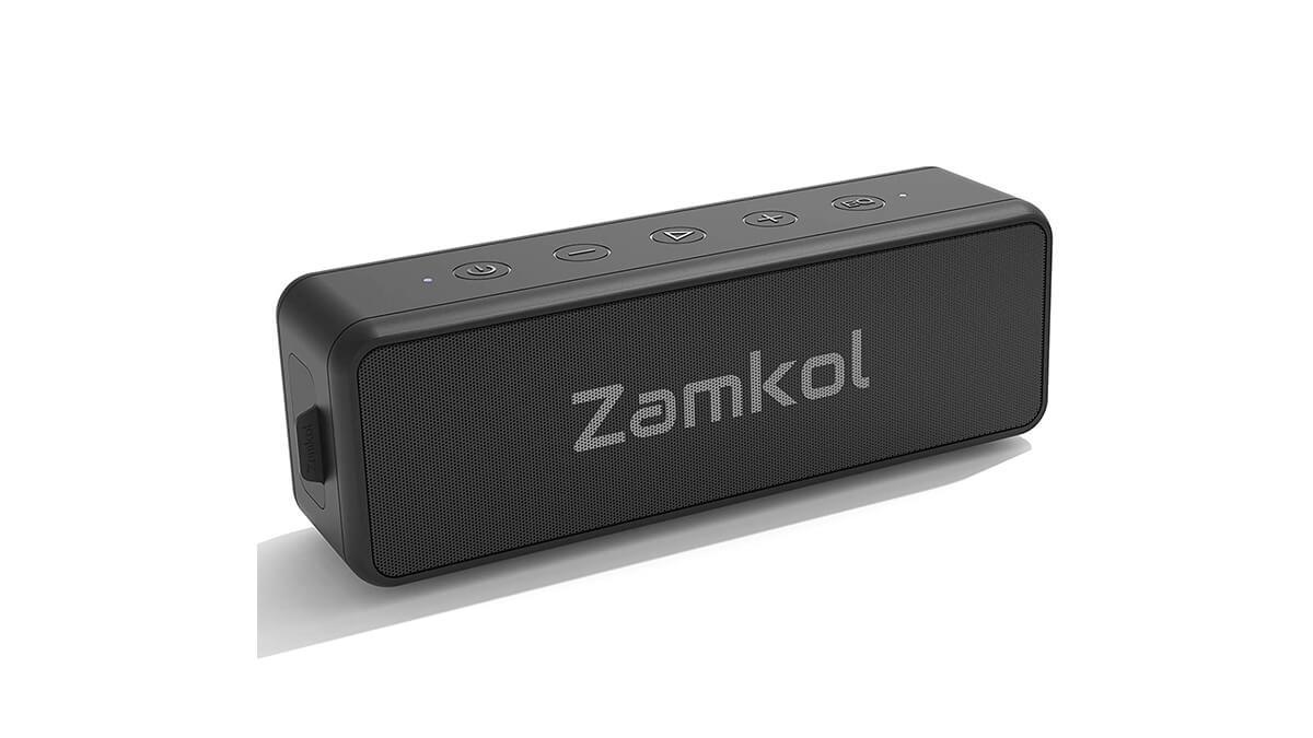Zamkol Bluetoothスピーカーが50%オフ。24時間再生できる20Wポータブルスピーカー
