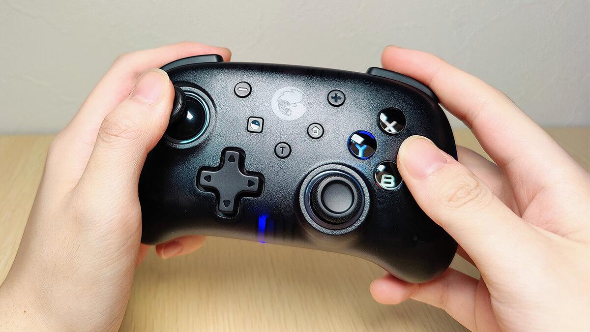 GameSir T4 Miniレビュー。コンパクトで連射対応、Nintendo Switch向けBTコントローラー